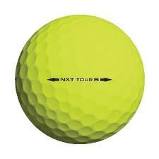 Titleist NXT Tour Yellow Used Golf Balls | Discounted Used Golf Balls