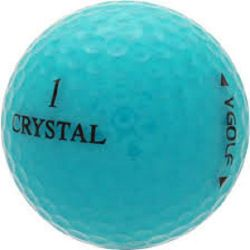 50 Crystal Mix Used Golf Balls