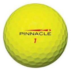 100 Pinnacle Gold Yellow Used Golf Balls