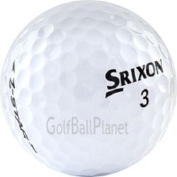 60 Mint White Srixon Mix Used Golf Balls | Wholesale Pricing | Discounted Golf Balls