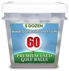 Titleist ProV1X 60 Ball tub Grade B used golf balls | Whole sale Discount prices