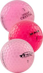 Pink Mix Golf Balls | Used Golf Balls