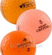 Orange Mix Golf Balls | Used Golf Balls