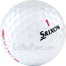 Srixon Soft Feel Lady Used Golf Balls