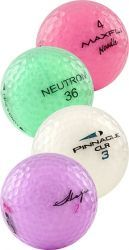 Crystal 10 Dozen Golf Balls B Grade Mix