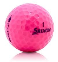 Srixon Soft Feel Lady Passion Pink Used Golf Ball | Wholesale Low Prices
