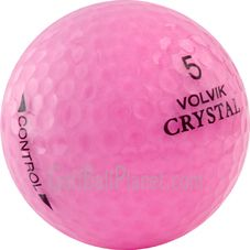 Volvik Crystal Mix Color Golf Balls