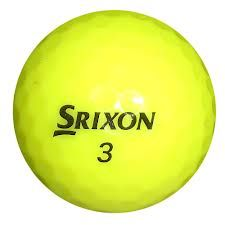 Srixon Q-Star Yellow Used Golf Ball