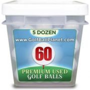 Srixon Mix Grade B 60 Ball Tub Used Golf Balls | Wholesale discount prices
