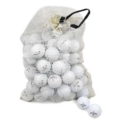 Callaway Assorted Models Recycled Golf Balls in Onion Mesh Bag (72-Piece)
