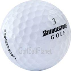 50 Bridgestone B330 RX Used Golf Balls