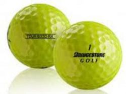 100 Bridgestone B330 RX Yellow Used Golf Balls