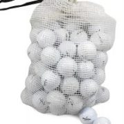 Bridgestone Mix Used Golf Balls in Mesh Onion Bag