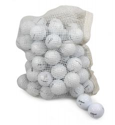 Titleist Assorted Models Recycled Golf Balls in Onion Mesh Bag (72-Piece)