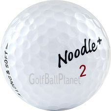 Maxfli Noodle Long & Soft Golf Balls | Used Gols Balls