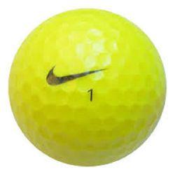 100 Premium Yellow Mix Used Golf Balls