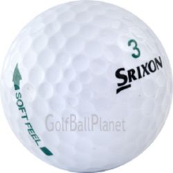 100 Srixon Soft Feel Used Golf Balls