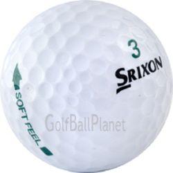 100 Srixon Soft Feel Used Golf Balls
