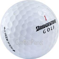 50 Bridgestone B330 S Used Golf Balls