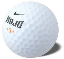 Nike Mojo White Used Golf Balls