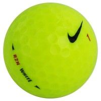 Nike One RZN White Yellow Used Golf Balls