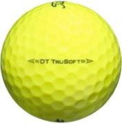 Titleist DT TruSoft Yellow Used Golf Balls