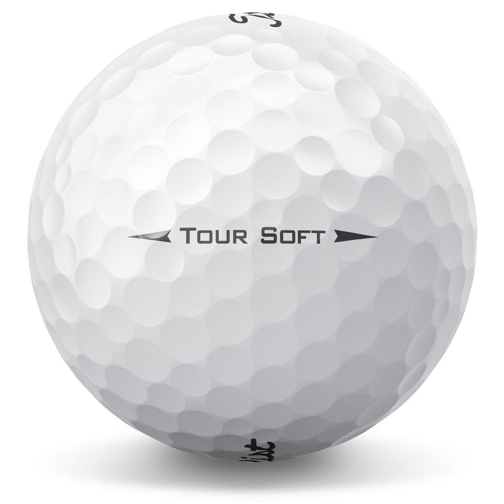 Titleist Tour Soft 1 Dozen Premium Used Golf Balls Golf Ball