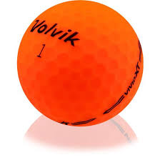 used green volvik golf balls